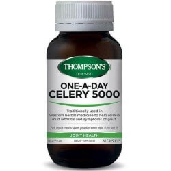 Thompson's Celery 5000 One-a-Day Capsules 60